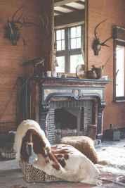 60 beautiful eclectic fireplace decor (28)