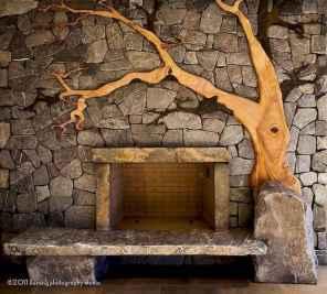 60 beautiful eclectic fireplace decor (29)