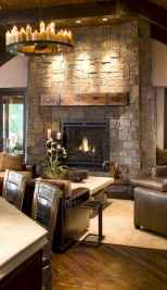 60 beautiful eclectic fireplace decor (30)