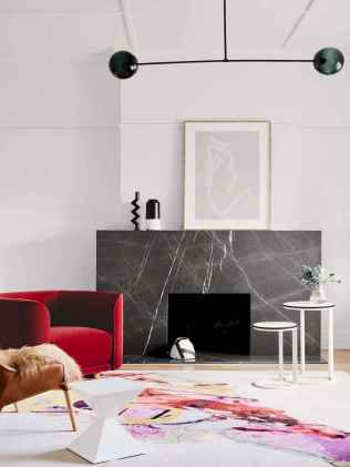 60 beautiful eclectic fireplace decor (31)