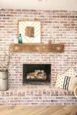 60 beautiful eclectic fireplace decor (4)