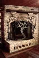 60 beautiful eclectic fireplace decor (41)