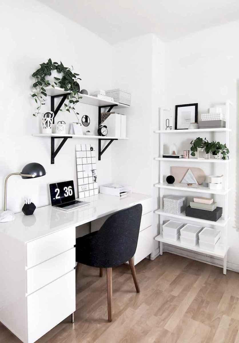 60+ beautiful and subtle home office scandinavian design ideas (1)