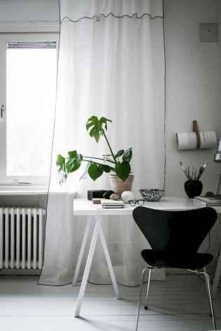 60+ beautiful and subtle home office scandinavian design ideas (14)