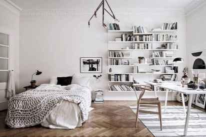 60+ beautiful and subtle home office scandinavian design ideas (16)