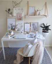 60+ beautiful and subtle home office scandinavian design ideas (2)