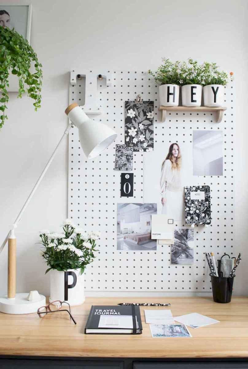 60+ beautiful and subtle home office scandinavian design ideas (21)