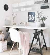 60+ beautiful and subtle home office scandinavian design ideas (27)
