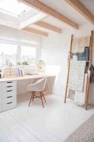 60+ beautiful and subtle home office scandinavian design ideas (49)