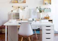 60+ beautiful and subtle home office scandinavian design ideas (59)