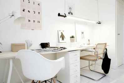 60+ beautiful and subtle home office scandinavian design ideas (60)