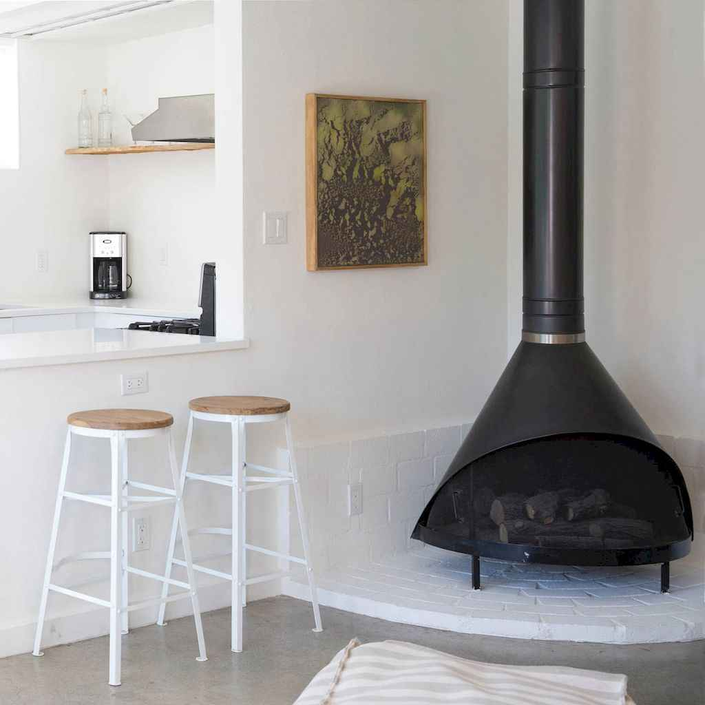 60+ cozy corner fireplace ideas for your home (1)