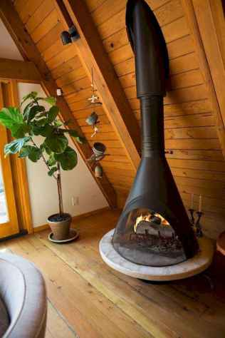 60+ cozy corner fireplace ideas for your home (12)