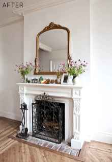 60+ cozy corner fireplace ideas for your home (40)
