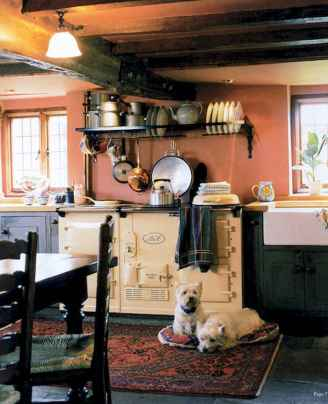 60 decorating kitchen with english country style (28)