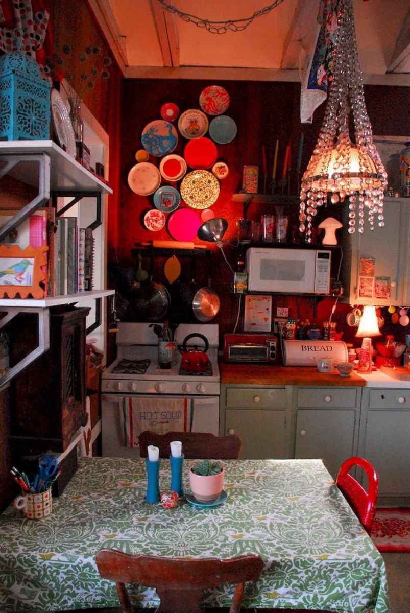 60 eclectic kitchen ideas that charge up your remodel (17)