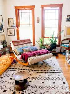 60 modern eclectic living room decorating ideas (20)