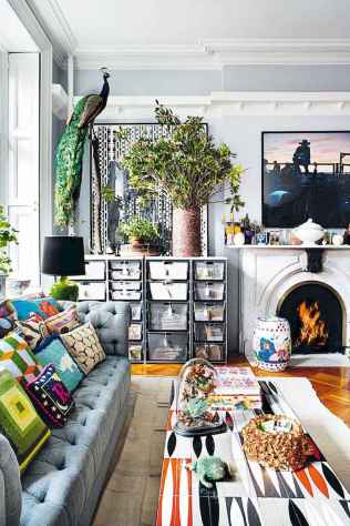 60 modern eclectic living room decorating ideas (22)