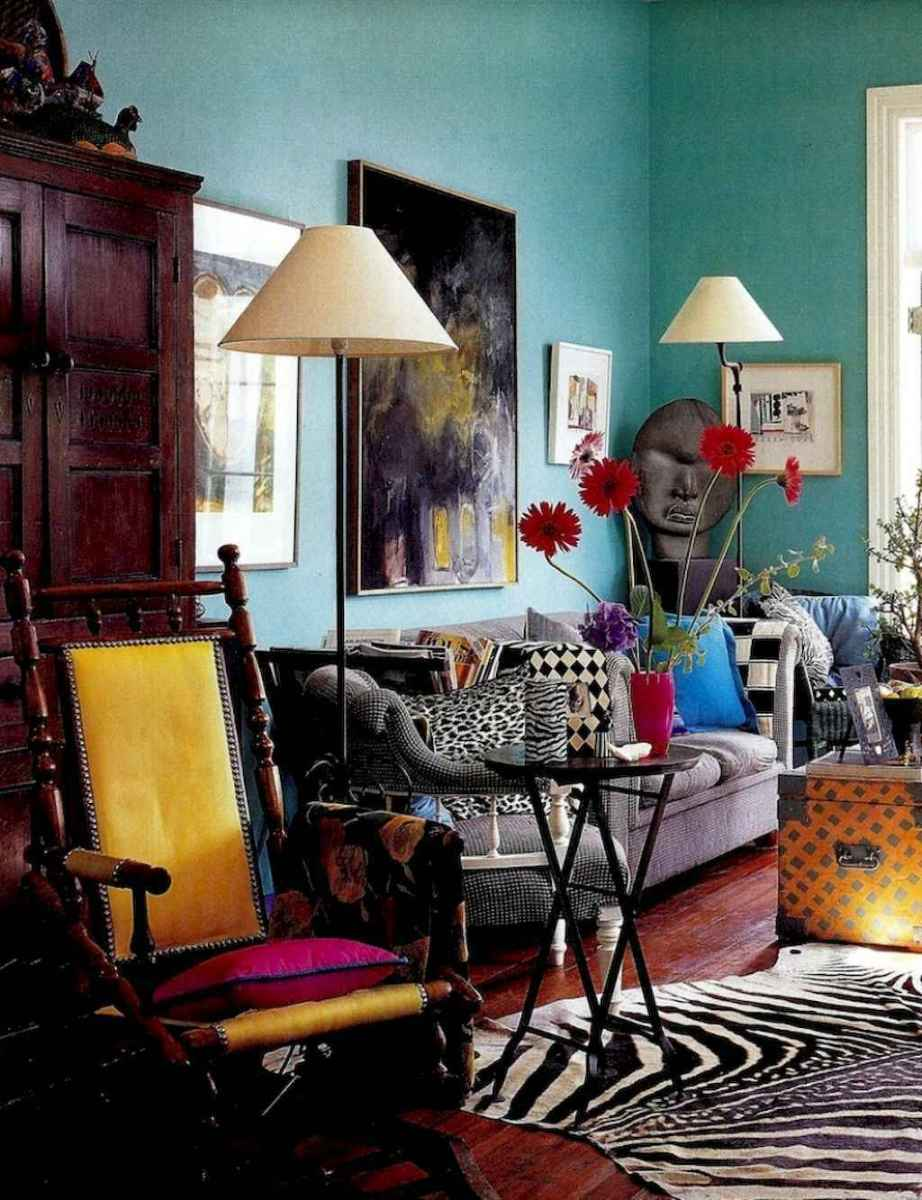 60 modern eclectic living room decorating ideas (26 ...