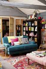 60 modern eclectic living room decorating ideas (33)
