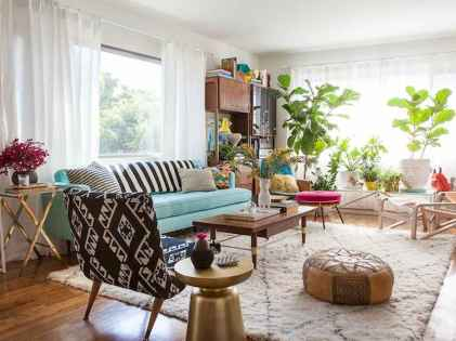 60 modern eclectic living room decorating ideas (53)