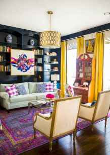 60 modern eclectic living room decorating ideas (59)