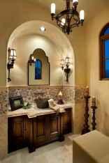 60+ pretty powder rooms with rustic design (14)