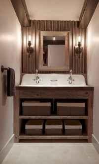 60+ pretty powder rooms with rustic design (5)