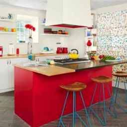 60 of the most inspiring colorful kitchen (36)