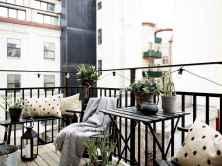 72 smart balcony designs with scandinavian ideas (12)