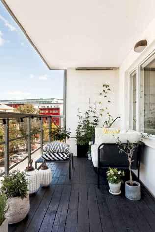 72 smart balcony designs with scandinavian ideas (33)