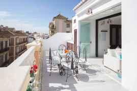 72 smart balcony designs with scandinavian ideas (70)