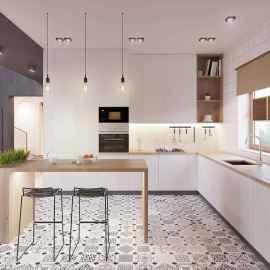 90+ inspiring and inventive scandinavian kitchen ideas (8)