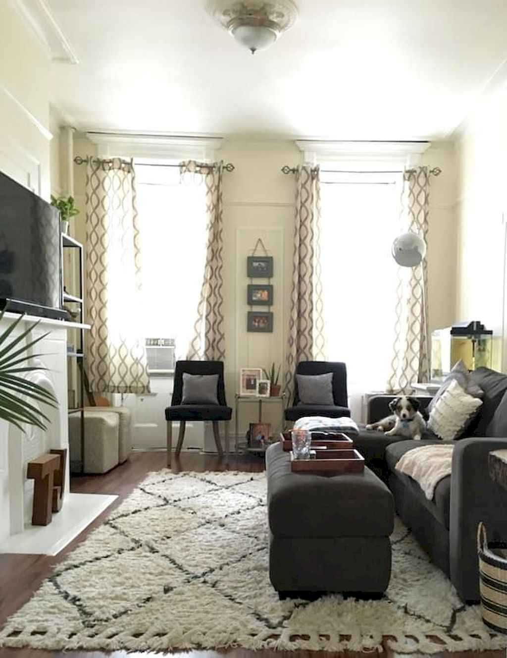 Awesome apartment living room decorating ideas (4)