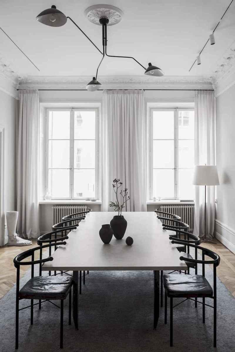 Awesome minimalist dining room decorating ideas (10)