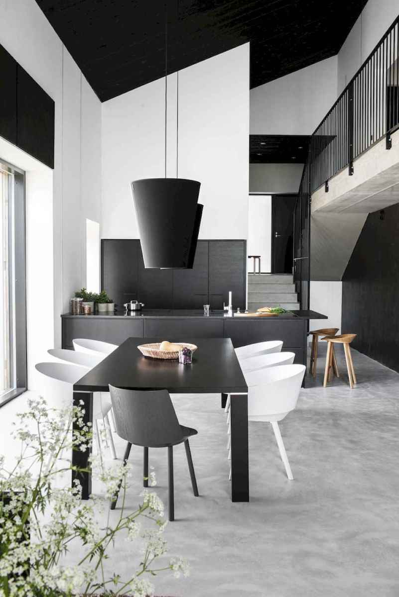 Awesome minimalist dining room decorating ideas (11)