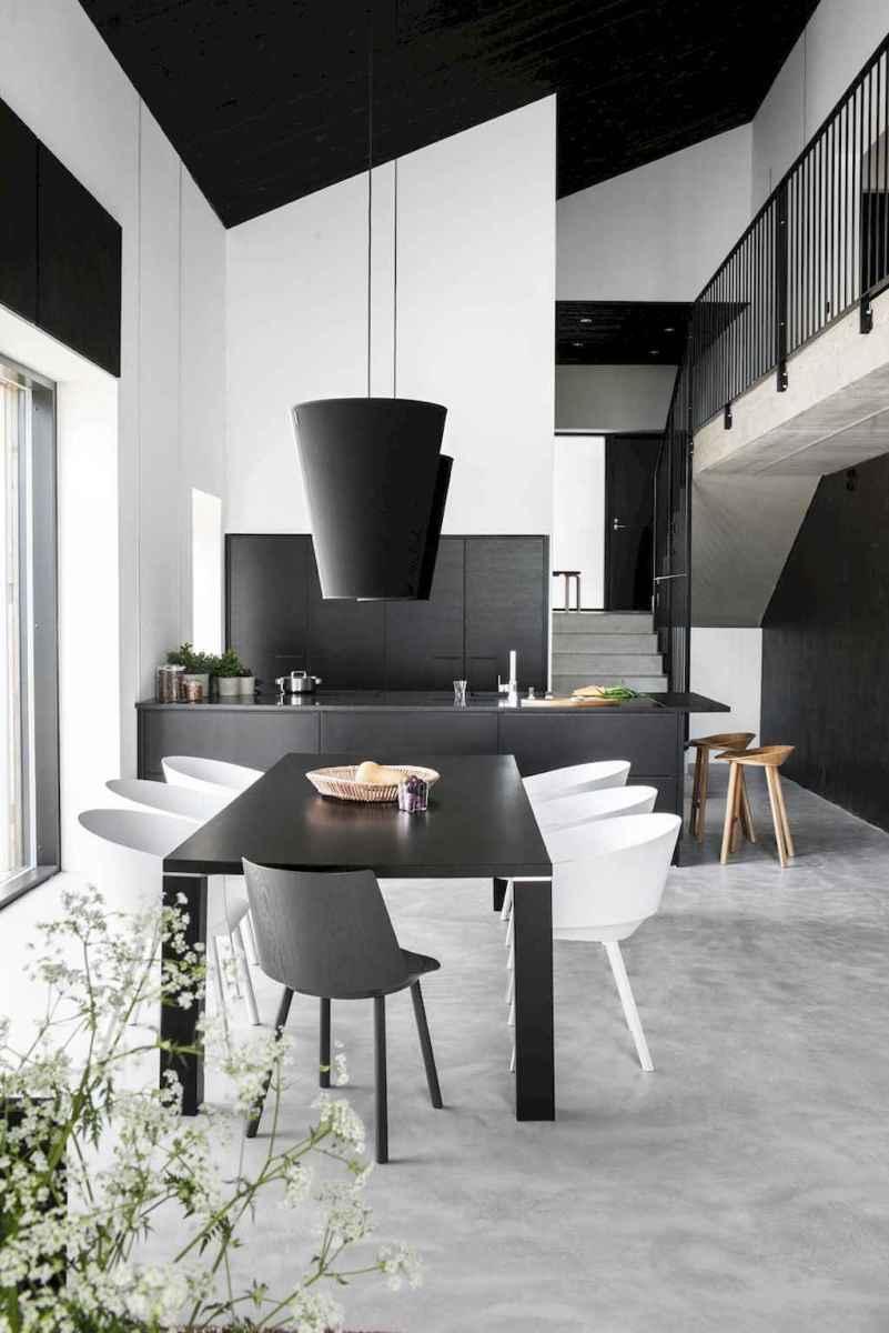 Awesome minimalist dining room decorating ideas (11)