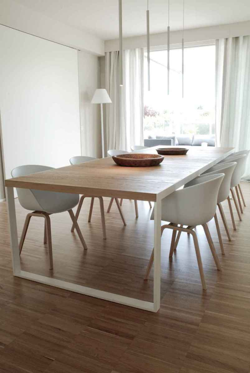 Awesome minimalist dining room decorating ideas (22)