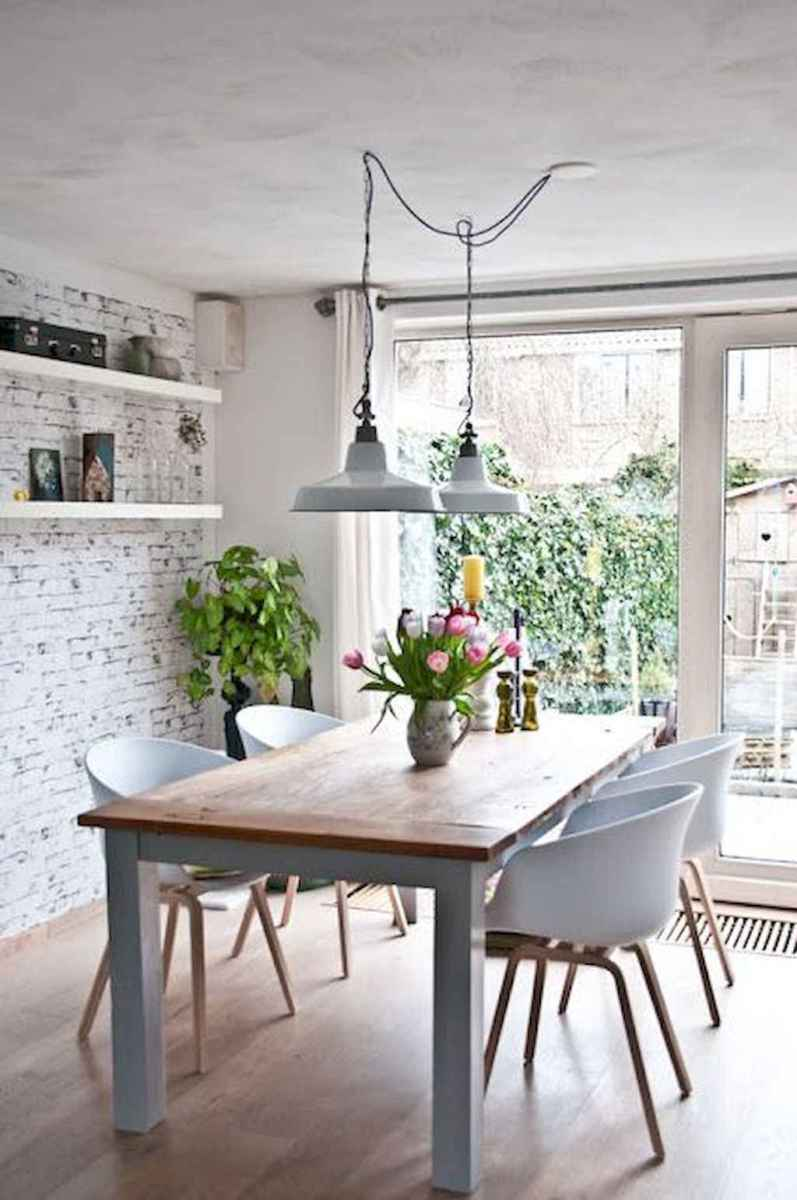 Awesome minimalist dining room decorating ideas (24)