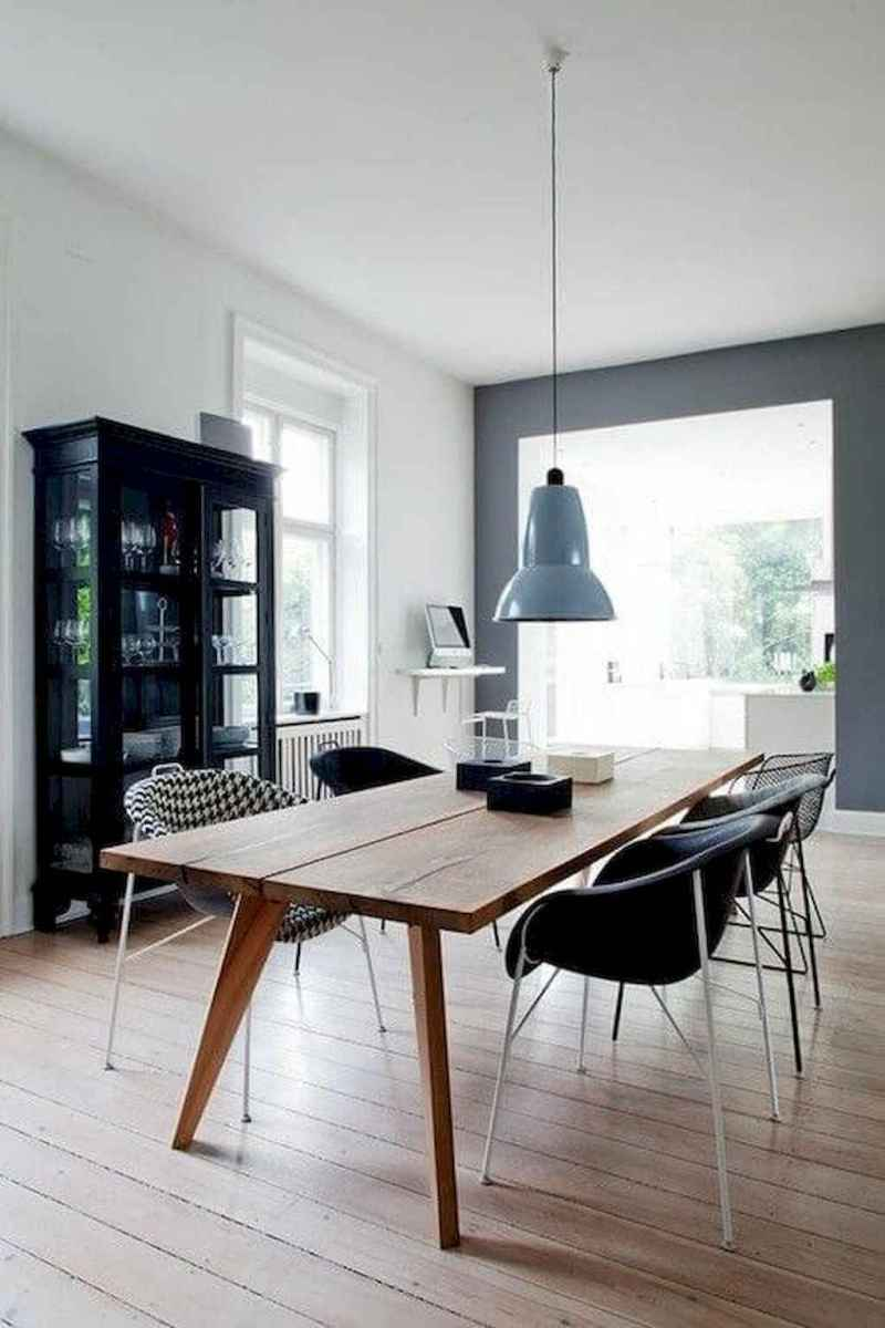 Awesome minimalist dining room decorating ideas (25)