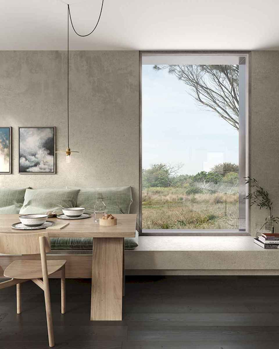 Awesome minimalist dining room decorating ideas (41)