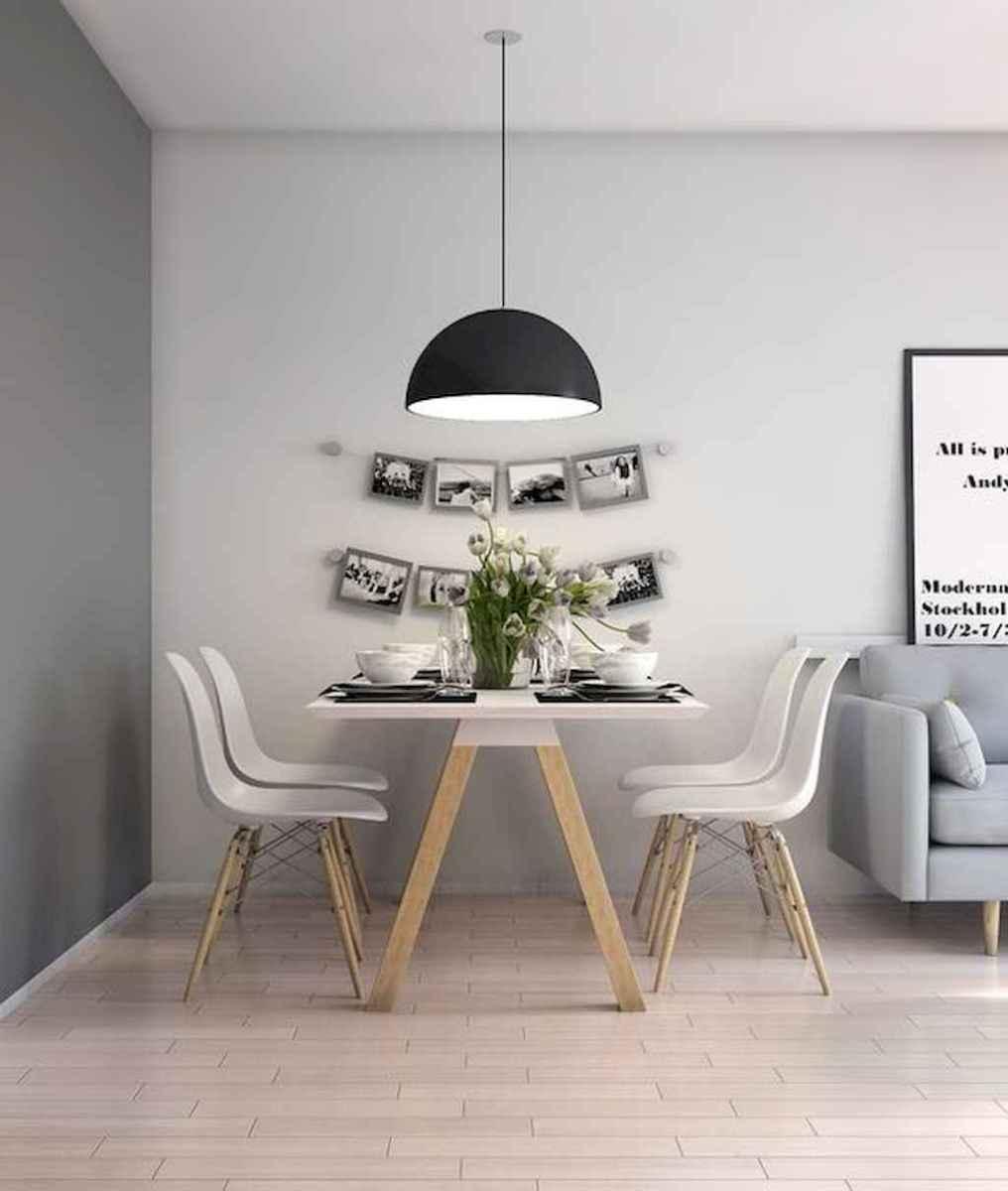 Awesome minimalist dining room decorating ideas (52)