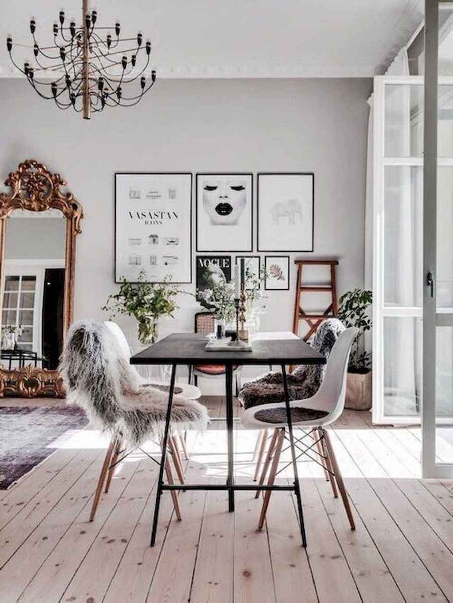 Awesome minimalist dining room decorating ideas (8)