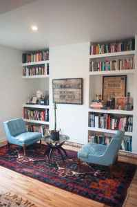 Beautiful home library design ideas (22)