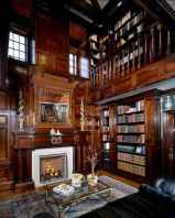 Beautiful home library design ideas (27)
