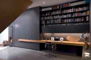 Beautiful home library design ideas (43)