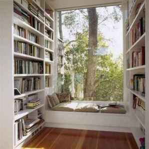 Beautiful home library design ideas (44)