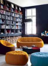 Beautiful home library design ideas (48)