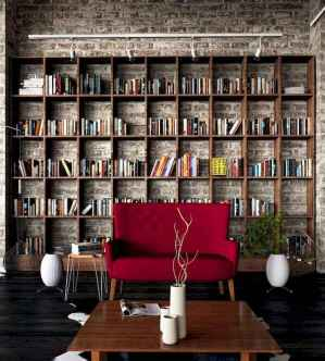 Beautiful home library design ideas (5)