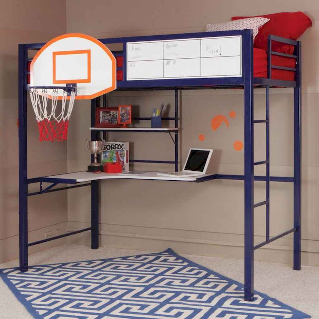 Cool sport bedroom ideas for boys (1)